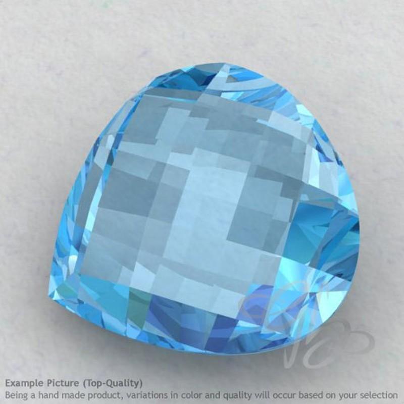 Sky Blue Topaz Heart Shape Calibrated Briolettes