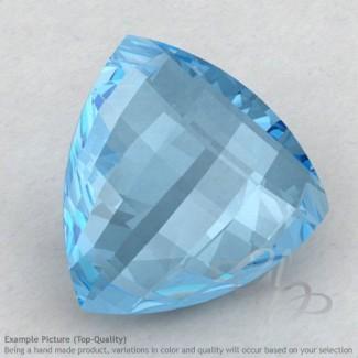 Sky Blue Topaz Trillion Shape Calibrated Briolettes