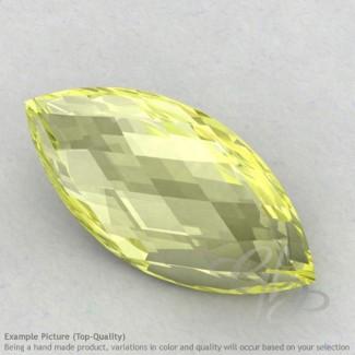 Lemon Quartz Marquise Shape Calibrated Briolettes