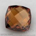 Cognac Quartz Square Cushion Shape Calibrated Briolettes