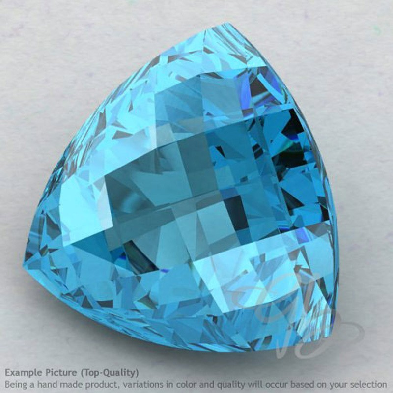 Swiss Blue Topaz Trillion Shape Calibrated Briolettes