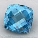 Swiss Blue Topaz Square Cushion Shape Calibrated Briolettes