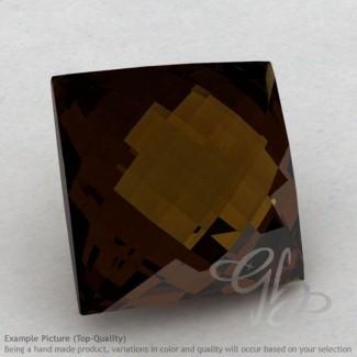 Whisky Quartz Square Shape Calibrated Briolettes
