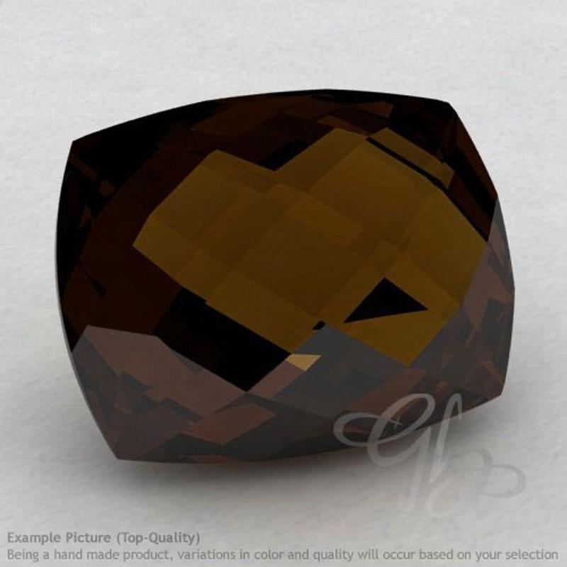 Whisky Quartz Cushion Shape Calibrated Briolettes