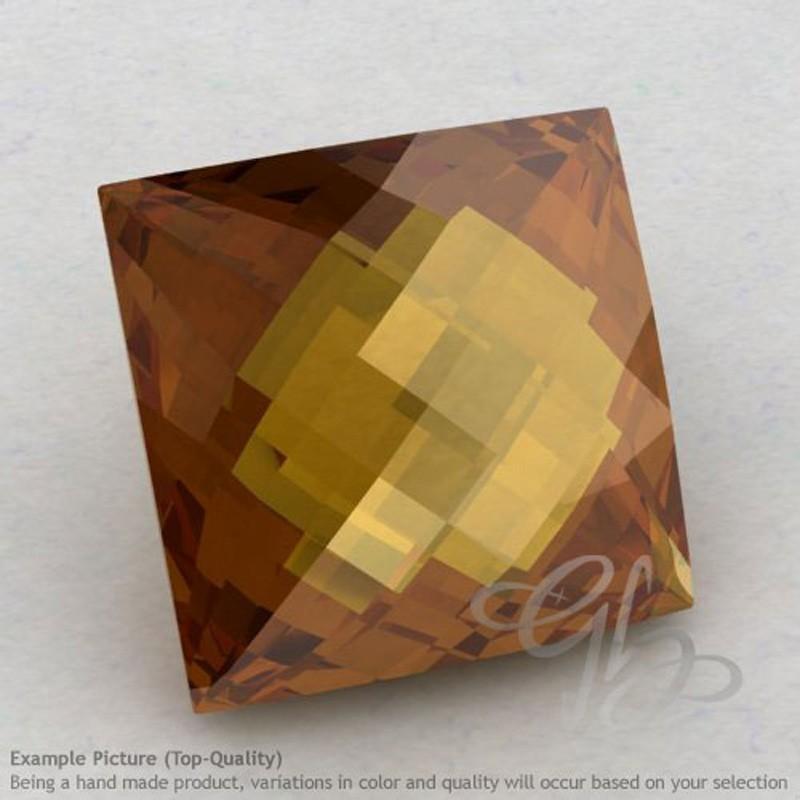 Honey Quartz Square Shape Calibrated Briolettes