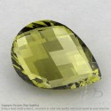 Olive Quartz Pear Shape Calibrated Briolettes