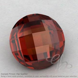 Garnet Round Shape Calibrated Briolettes