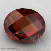 Garnet Oval Shape Calibrated Briolettes
