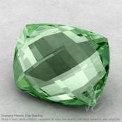 Green Amethyst Cushion Shape Calibrated Briolettes