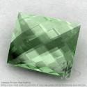 Green Amethyst Baguette Shape Calibrated Briolettes