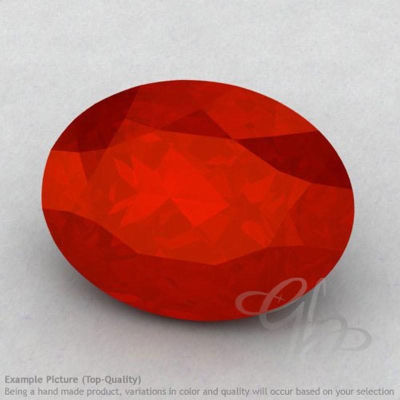 Carnelian Oval Shape Calibrated Gemstones