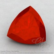 Carnelian Trillion Shape Calibrated Gemstones