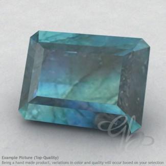 Labradorite Octagon Shape Calibrated Gemstones