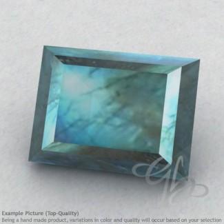 Labradorite Baguette Shape Calibrated Gemstones