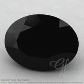 Black Spinel Oval Shape Calibrated Gemstones