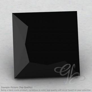 Black Spinel Square Shape Calibrated Gemstones
