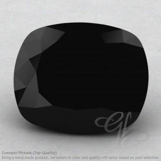Black Spinel Cushion Shape Calibrated Gemstones