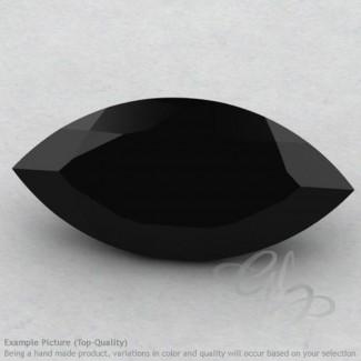 Black Spinel Marquise Shape Calibrated Gemstones