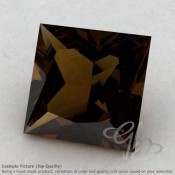 Whisky Quartz Square Shape Calibrated Gemstones