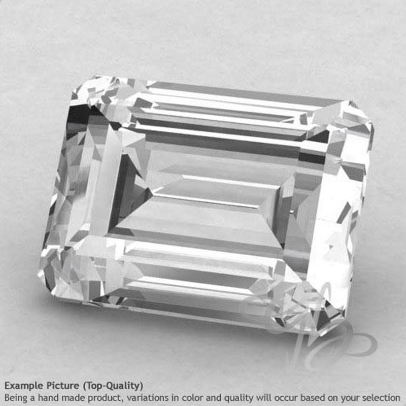 Crystal Quartz Octagon Shape Calibrated Gemstones