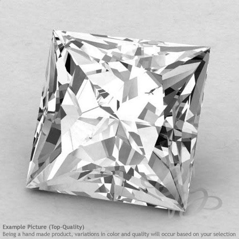 Crystal Quartz Square Shape Calibrated Gemstones