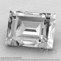 Crystal Quartz Baguette Shape Calibrated Gemstones