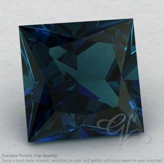 London Blue Topaz Square Shape Calibrated Gemstones