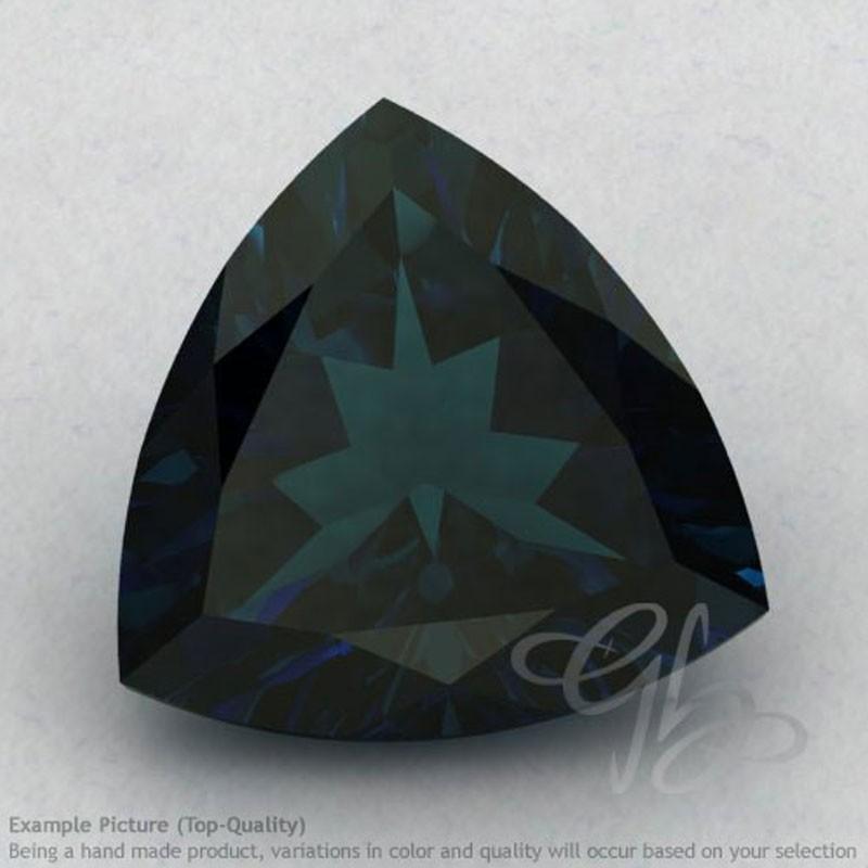 London Blue Topaz Trillion Shape Calibrated Gemstones