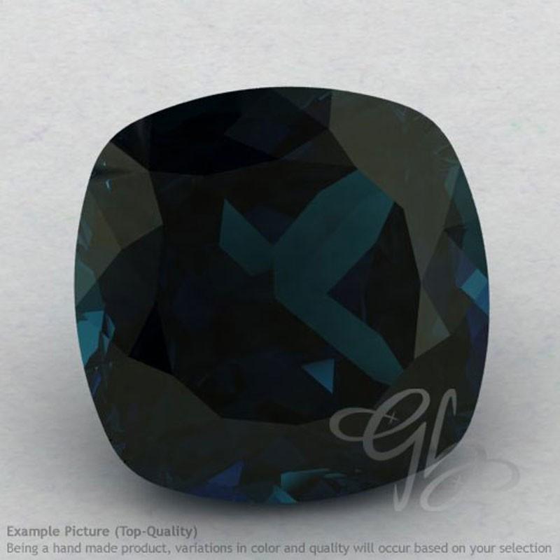 London Blue Topaz Square Cushion Shape Calibrated Gemstones