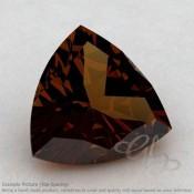 Cognac Quartz Trillion Shape Calibrated Gemstones