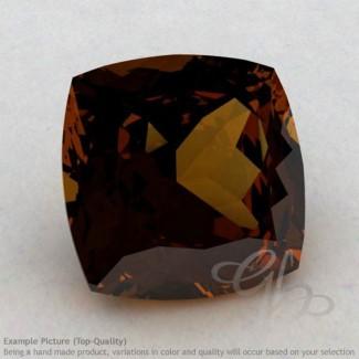Cognac Quartz Square Cushion Shape Calibrated Gemstones