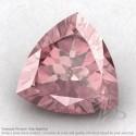 Rose Quartz Trillion Shape Calibrated Gemstones