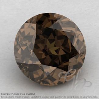Smoky Quartz Round Shape Calibrated Gemstones