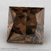 Smoky Quartz Square Shape Calibrated Gemstones