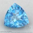Swiss Blue Topaz Trillion Shape Calibrated Gemstones