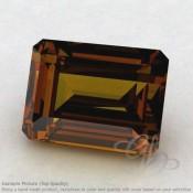 Beer Quartz Octagon Shape Calibrated Gemstones