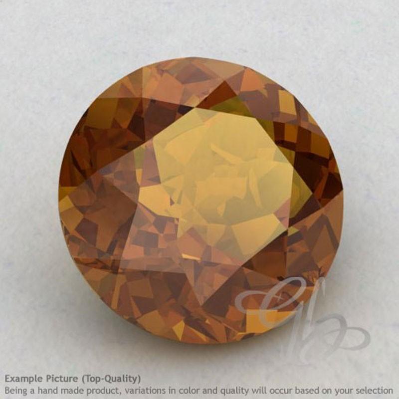 Honey Quartz Round Shape Calibrated Gemstones