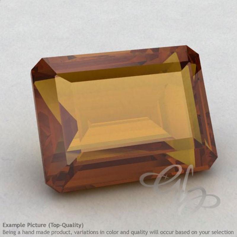 Honey Quartz Octagon Shape Calibrated Gemstones