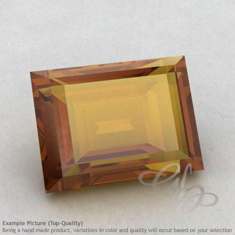 Honey Quartz Baguette Shape Calibrated Gemstones