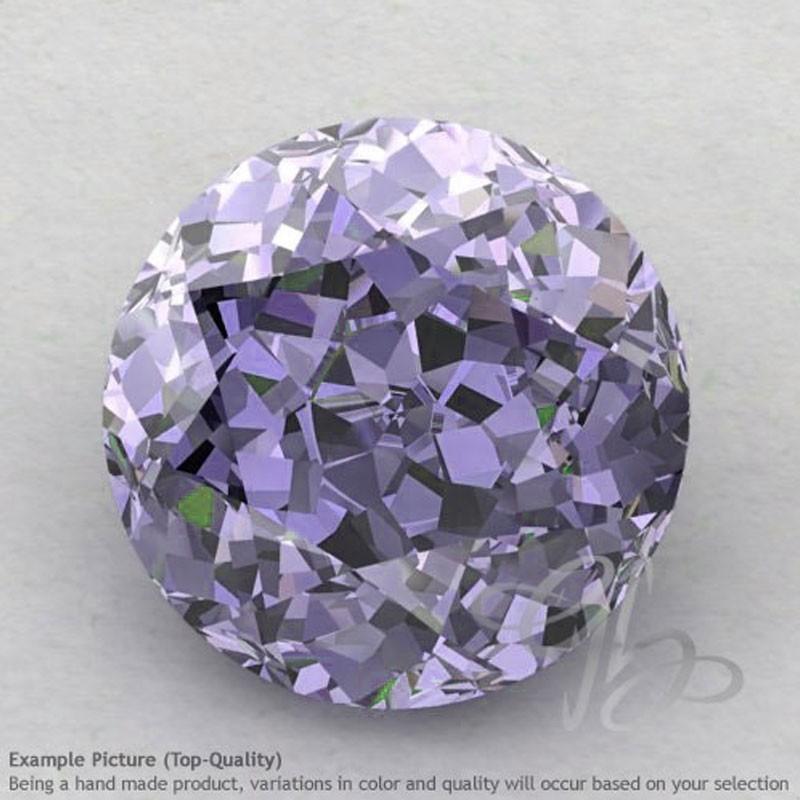 Iolite Round Shape Calibrated Gemstones