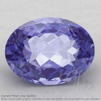 Iolite Oval Shape Calibrated Gemstones