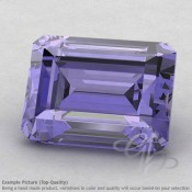 Iolite Octagon Shape Calibrated Gemstones