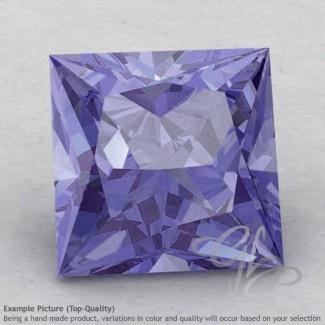 Iolite Square Shape Calibrated Gemstones