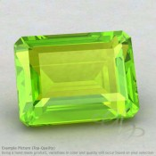 Peridot Octagon Shape Calibrated Gemstones