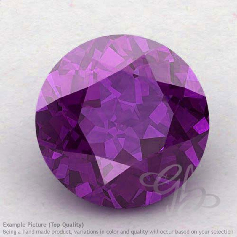African Amethyst Round Shape Calibrated Gemstones