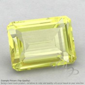 Lemon Quartz Octagon Shape Calibrated Gemstones