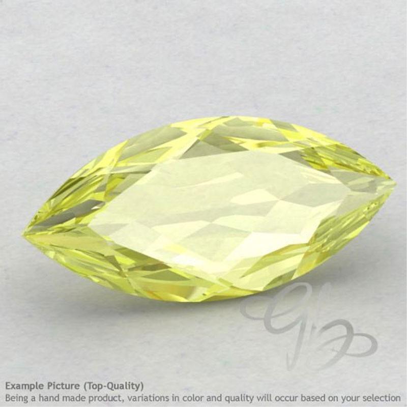 Lemon Quartz Marquise Shape Calibrated Gemstones