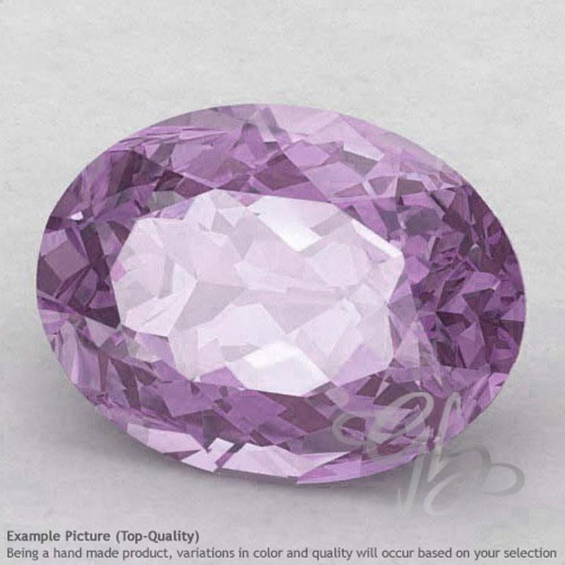 Pink Amethyst Oval Shape Calibrated Gemstones