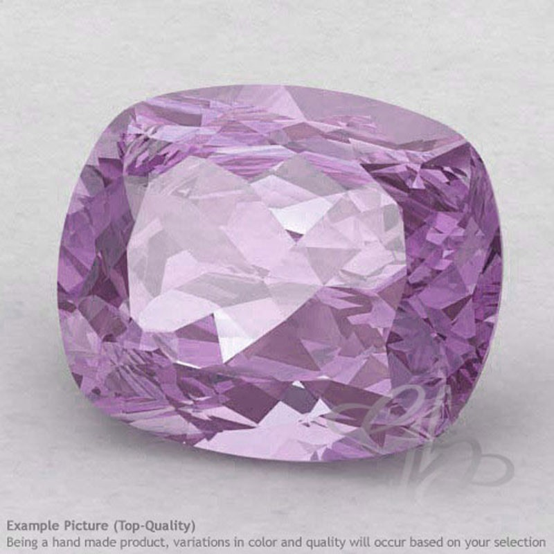 Pink Amethyst Cushion Shape Calibrated Gemstones
