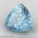Aquamarine Trillion Shape Calibrated Gemstones